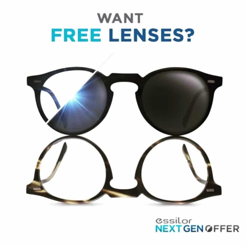 Want Free Lenses? Graphic