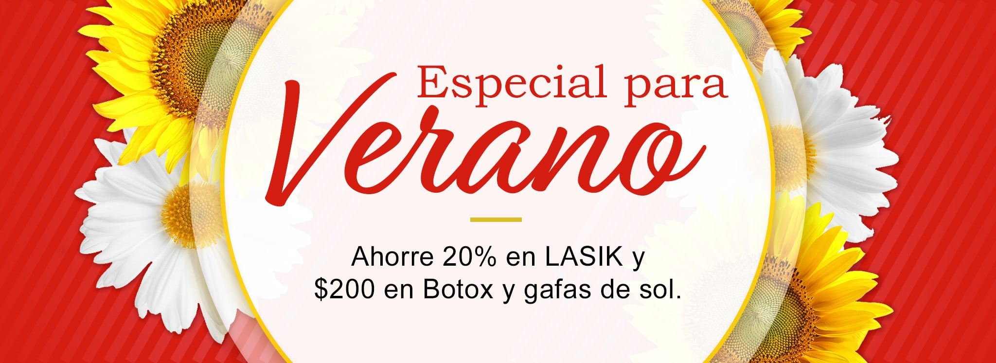 Lasik Special in spanish graphic